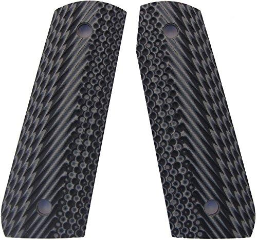 Material 45 - LOK Grips Spec Ops Ruger 22/45 Grips G10 Material (Grey/Black)