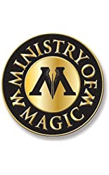 "Ata-Boy Harry Potter Ministry of Magic 1/2"" Full Color Enamel Pin"