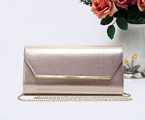 Rosegold Evening 1703 LeahWard Wedding Out Night Clutch Party Women's For Purse Bag Prom x4qU7w