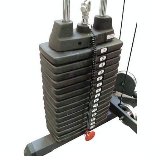 Body Solid SP200 Accessory Weight Stack for WBF48 Series