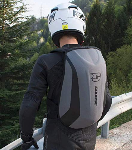 Water-resistant 24L Course XLmoto Slipstream motorcycle Backpack
