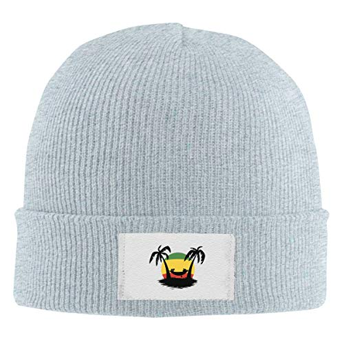 Skull Caps Desenhos De Reggae Winter Warm Knit
