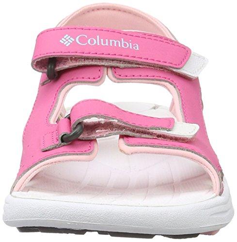 Columbia Mädchen Youth Techsun Vent Trekking- & Wandersandalen Pink (Wild Geranium, Cupid 656)
