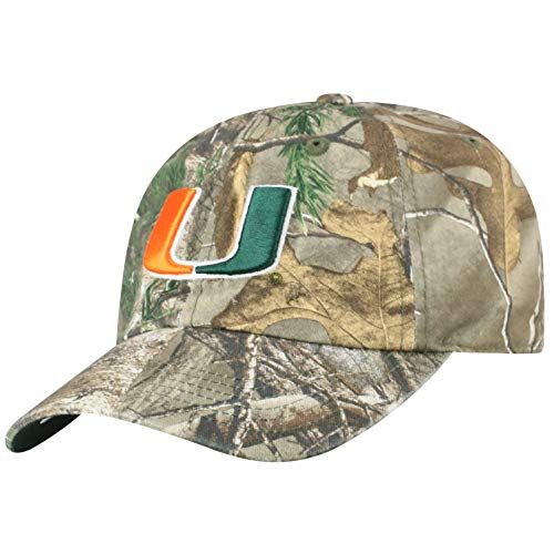 ecdf21a23fd9d Miami Hurricanes Camouflage Caps