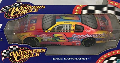 Action Dale Earnhardt Sr 3 Winners Circle Peter Max 1 24 Scale Diecast