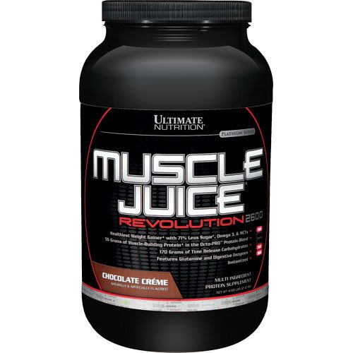 Ultimate Nutrition Muscle Juice Revolution 2600, Chocolate Cream, 4.69 Pound