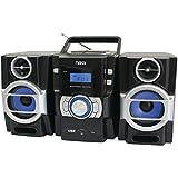 NAXA NPB429 Portable CD/MP3 Player with PLL FM Radio, Detachable Speakers & Remote Computer, Electronics