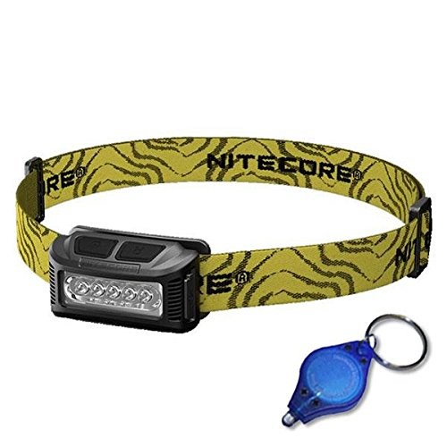 Nitecore NU10 160 Lumens Rechargeable Wide Angle Headlamp -Optional Color Choices