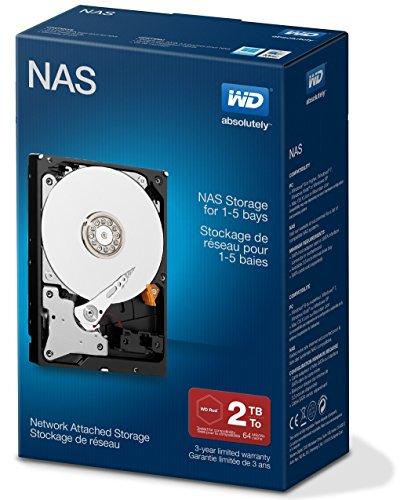 Western Digital Red 2TB  Desktop interne Festplatte - 5400 U/min SATA 6 Gb/s 64MB Cache 3.5 Zoll - WDBMMA0020HNC-ERSN
