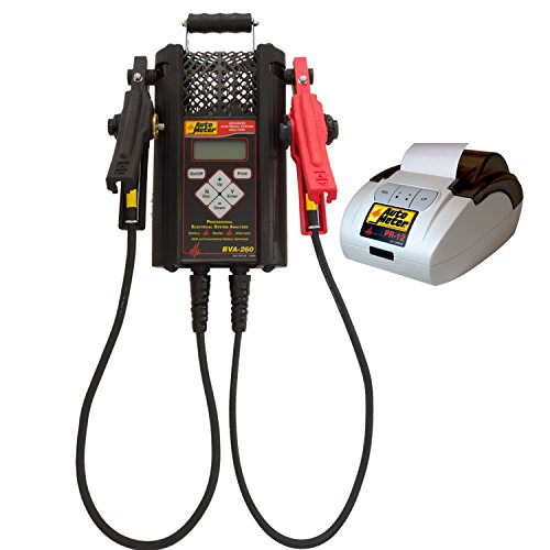 AutoMeter BVA-260PR Battery Tester Handheld 120 Amp Load Incl. Printer Battery Tester