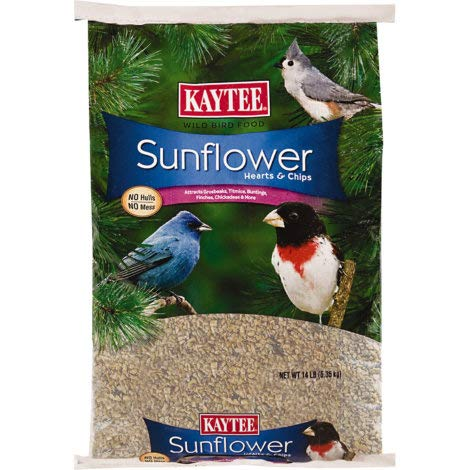 (Kacytee Sunflower Hearts & Chips 14 Lb (1 Pack))