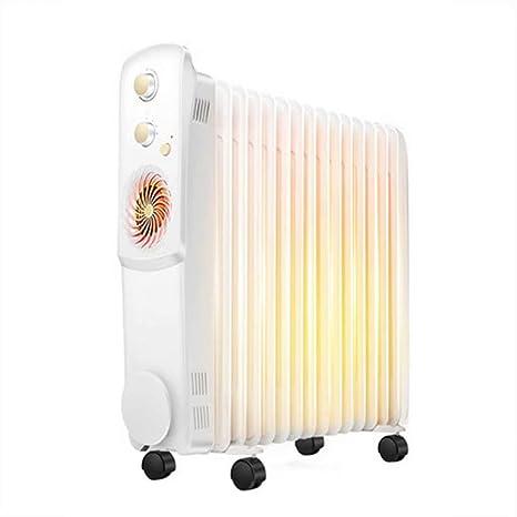 ltjrq Calentador de Aceite Calentador doméstico de energía Ahorro de energía calefacción 15 Piezas de Calentadores