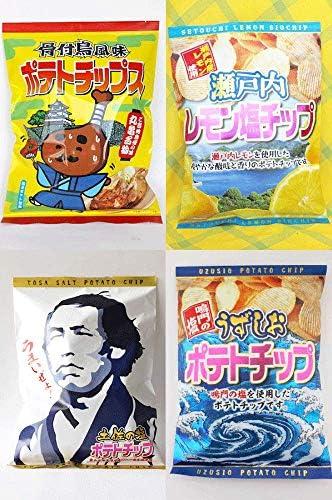 四国ご当地ポテトチップス 4種セット
