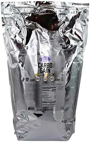 NOW Foods - Carbo Gain 100% Complex Carbohydrate Mega Pack - 12 lbs.