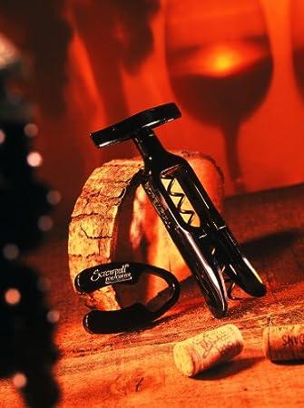 Le Creuset 50991001000000 GS-100 - Sacacorchos (Set Regalo), Color Negro