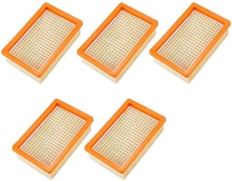 Bobotron - Filtro de repuesto para aspiradora KARCHER MV4 MV5 MV6 WD4 WD5 WD6 P PREMIUM WD5: Amazon.es: Hogar
