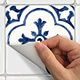 SnazzyDecal Tile Stickers Antique Dutch 40pc 4x4in Peel and Stick for Kitchen and Bath BW002-4