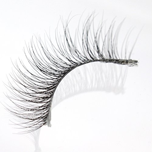 GLMR Invisible band Handmade New Fashionable Natural looking False Eyelashes extension(NM04),Glamour Lash Soft and Beauty ()
