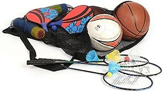 Portable Sports Boule d'équipement en maille Ceinture Sacs pour 10ballons de basket Ballons de basket Net Sacs Sports d'entraînement d'alimentation