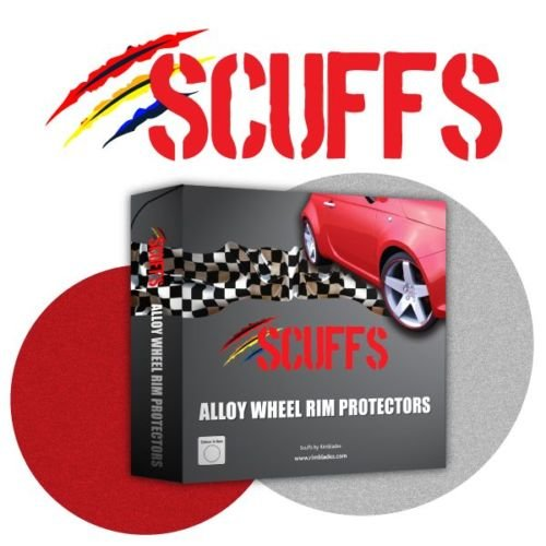 Scuffs by Rimblades Alloy Wheel Rim Protectors-RED