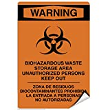 Biohazardous Waste Storage Area Unauthorized Keep
