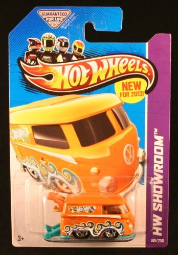 2013 Hot Wheels Hw Showroom 169/250 - Volkswagen Kool Kombi - Orange