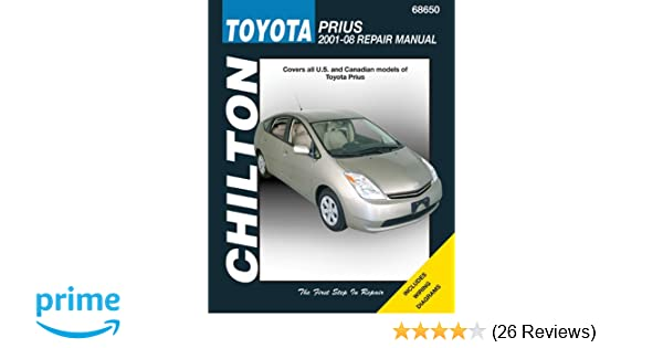 Chilton total car care toyota prius 2001 08 chiltons total car chilton total car care toyota prius 2001 08 chiltons total car care repair manuals chilton 9781563926914 amazon books fandeluxe Image collections