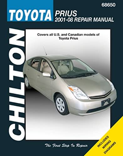 chilton total car care toyota prius 2001 08 chilton s total car rh amazon com 2015 Toyota Prius 2017 Toyota Prius