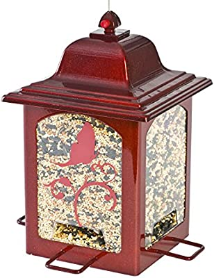 Perky-Pet 363R Red Sparkle Lantern Bird Feeder: Amazon.ca: Patio, Lawn &  Garden