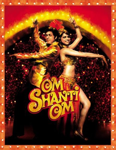 Indian Movie Poster - Om Shanti Om Poster Movie Indian C 27x40