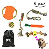 MG MULGORE Dog Rope Toy 6 Pack Gift Set Chewing Dog Toys for Medium to Small Pet Teething Toys Durable and Interactive
