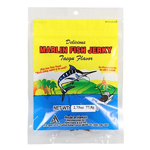 Hawaiian Marlin Fish Jerky Taegu 2.75 Oz