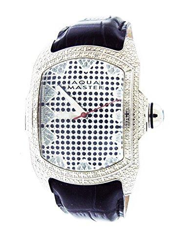 Aqua Master Silver Face 20 Diamonds Bubble Loop Watch with Aqua (Aqua Master)
