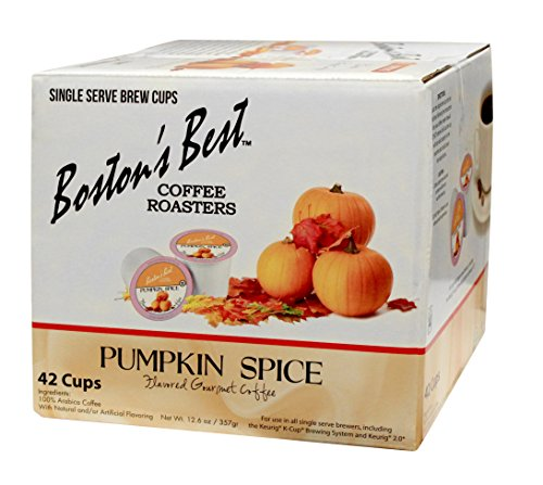 Boston's Subdue Single Serve K-Cup Coffee, Pumpkin Spice,12.6 oz, 42 Count