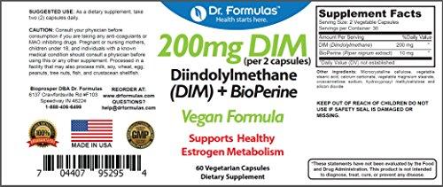 Dr Formulas Bioperine Diindolylmethane Metabolism