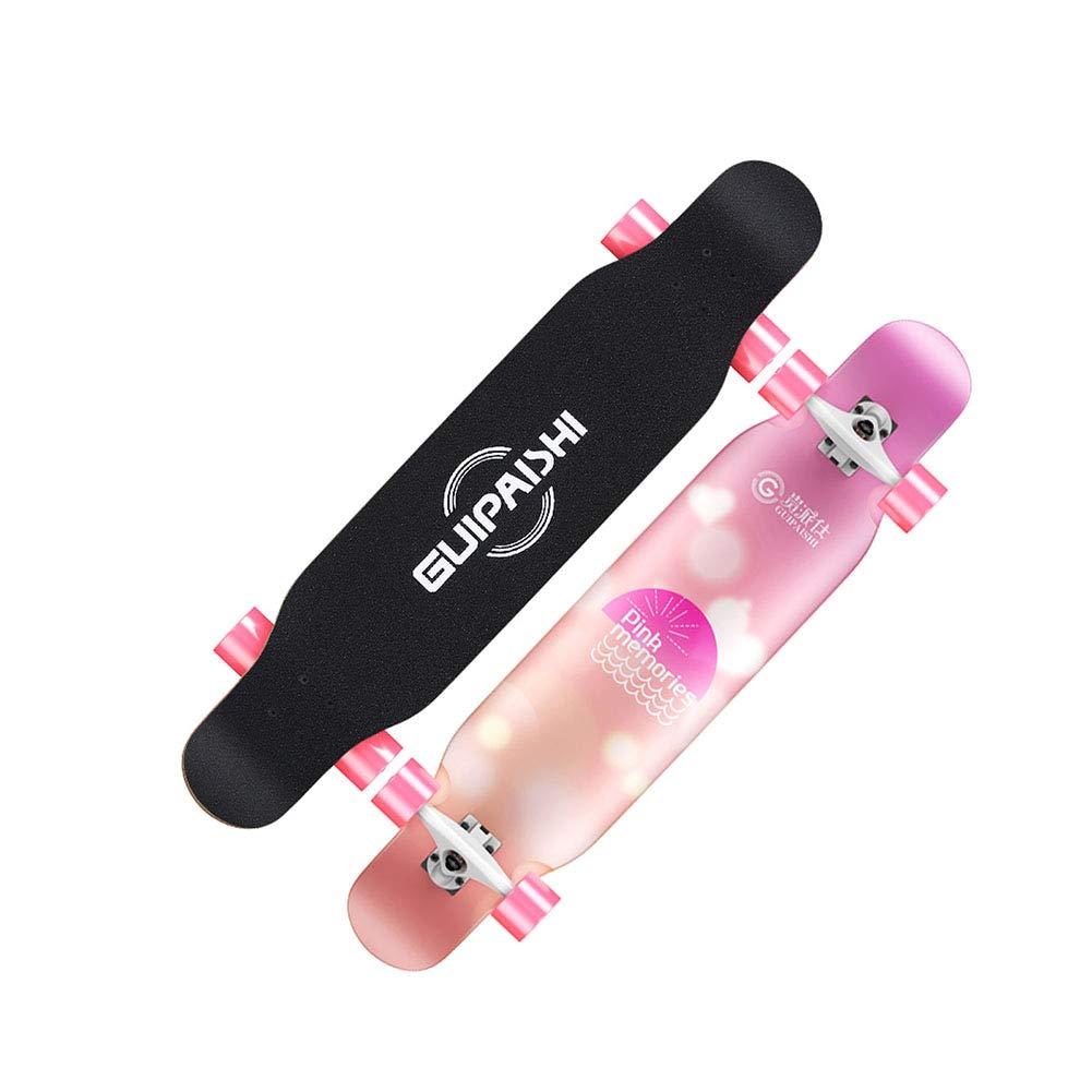 注文割引 ZX ロングボード スケートボード 女の子 アダルト ロングボード スクーター time ダンス スクーター ダンスボード ブラシストリート 初心者 (色 : Vitality) B07GXM9JJN Romantic time Romantic time, ミズホシ:2afb05e7 --- a0267596.xsph.ru