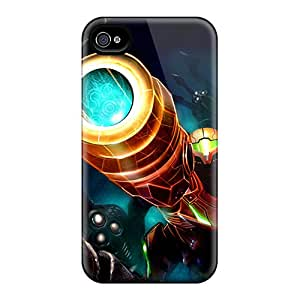JamesDLaughlin Case Cover For Iphone 4/4s - Retailer Packaging Metroid Protective Case