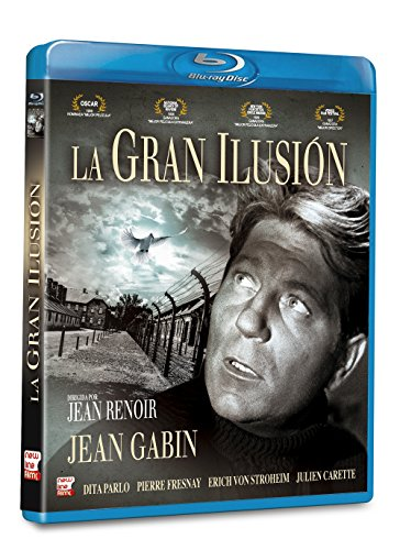 La gran ilusion ( La grande illusion) 1937 - Blu-Ray - Spanish Import- European format