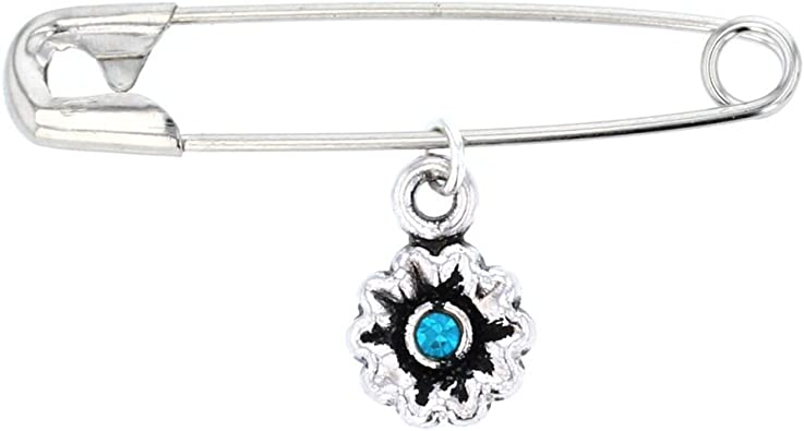 DiamondJewelryNY Sterling Silver St Joan of Arc Pendant