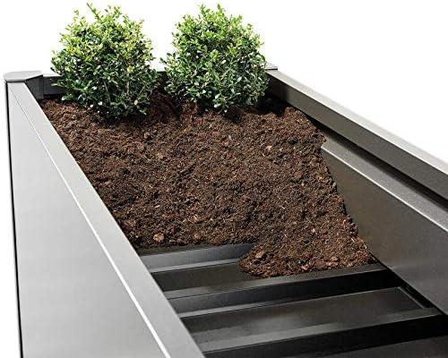 Biohort - Estante para bancal 2 x 1, 196 x 100 x 3 cm, Chapa de Acero galvanizada al Fuego