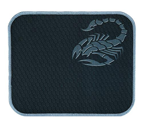 RiaTech Mouse Pad with Scorpio Print, Antifray Stitched Embroidery Edges, Water Resistance Coating Non-Slip Rubber Base…