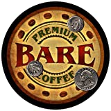 4 pack - Bare Family Coffee Neoprene Drink Coasters