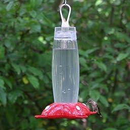 Garden Song 271 Rose Petal 19-Ounce Hummingbird Feeder