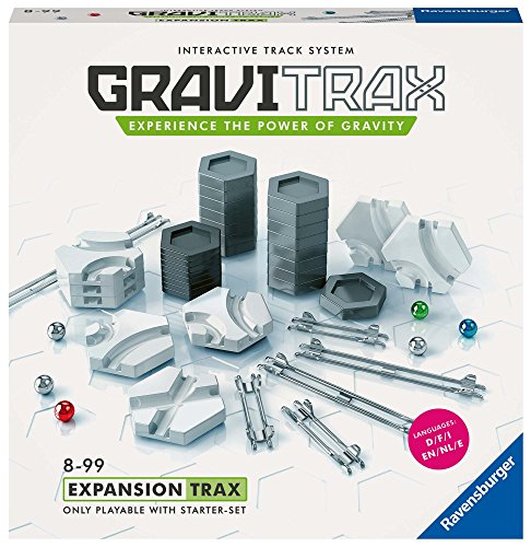Ravensburger Gravitrax Trax Expansion Set Marble Run & STEM Toy for Boys & Girls Age 8 & Up - Expansion for 2019 Toy of The Year Finalist Gravitrax from Ravensburger