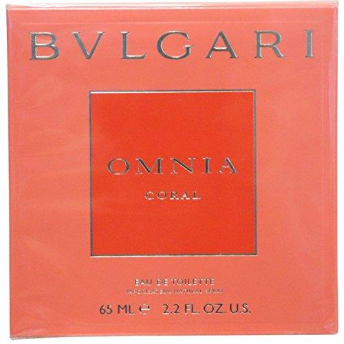 Price comparison product image Omnia Coral By Bvlgari Eau De Toilette Spray For Women 2.2 oz