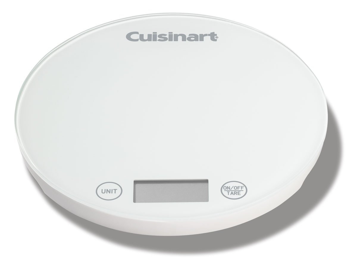 Cuisinart KFS-1W DigiPad Digital Kitchen Scale, White