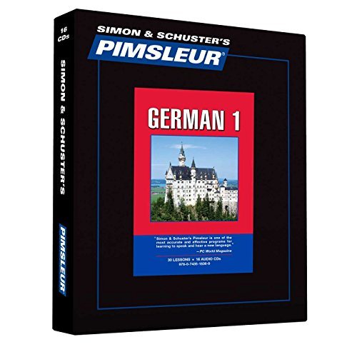Pimsleur German Level 1 CD: Learn to Speak and Understand German with Pimsleur Language Programs (Comprehensive) by Example Product Brand