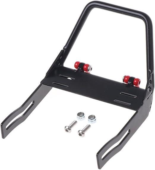 LyGuy Paraurti Anteriore Trapezoidale Bull Bar Grillo per 1:10 RC Car Axial D90 D110 SCX10 Paraurti Anteriore in Metallo