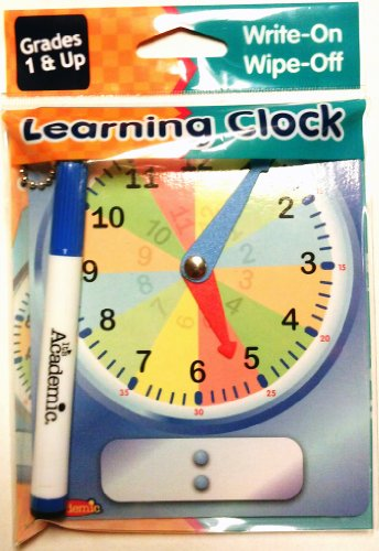 Learning Clock (Hands Teaching Clock)