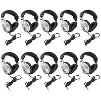 Behringer 10 Pack HPM1000 Multi-Purpose Stereo Headphones